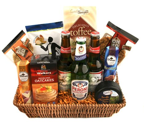 Oh So...Scrummy Beer and Snacks Food Hamper