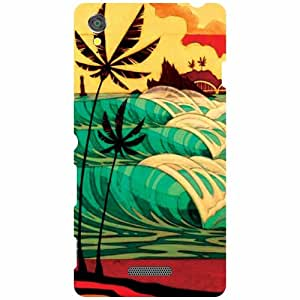 Back Cover For Sony Xperia T3 D5102 -(Printland)