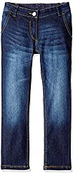 US Polo Girls' Jeans (UGJN5030_Dark Blue_ES )