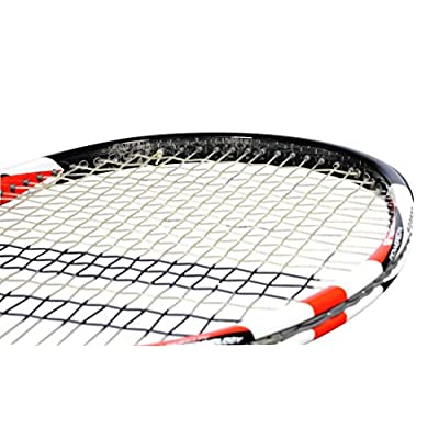 Babolat Pure Storm Ltd with Gt Un strung Racquet and Pro Xtreme X 200M String Combo Pack Grip: 4.375