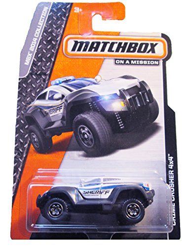 Matchbox - MBX 2014 Collection - Crime Crusher 4x4 - 1