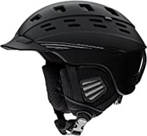 Smith Optics Unisex Adult Variant Brim Snow Sports Helmet (Matte Black, Large)