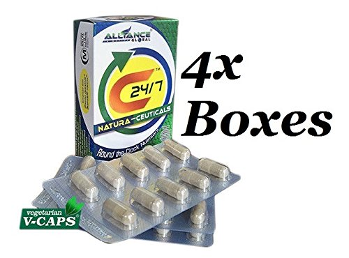 4 boxes of Nature's Way C24/7 NATURA-CEUTICALS FOOD SUPPLEMENT