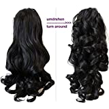 """PRETTYSHOP 20"""" & 120g Hair Piece Pony Tail Extension 2 IN 1 Curled Wavy Heat-Resisting Diverse Colors"""