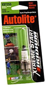 Autolite XST255DP Xtreme Start Small Engine Spark Plug, 1 per Card from Autolite