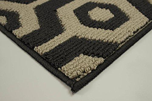 Jean Pierre Honeycomb Textured Decorative Accent Runner, 24 x 60