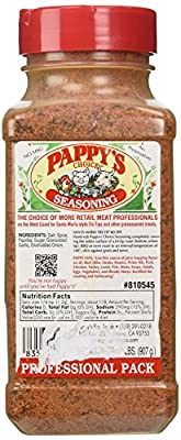 Pappy's Choice Seasoning (32 Oz Professional Pack) from Pappy's Fine Foods