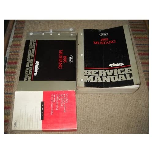 1995 Ford Mustang Gt Cobra Service Shop Manual OEM ford