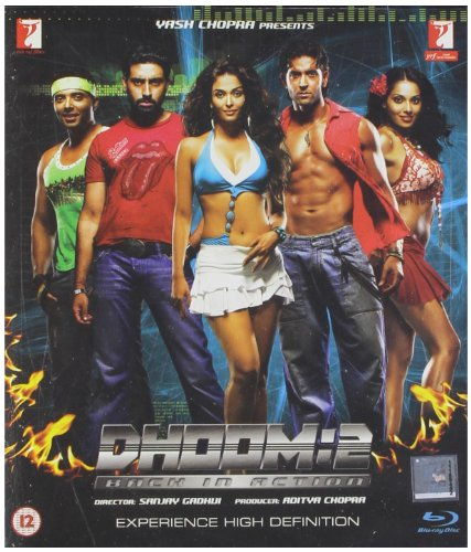 Dhoom 2 (2006) [Blu-ray] (Bollywood Movie / Indian Cinema / Hindi Film)