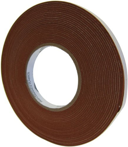 Saint-Gobain 100S Strip-N-Stick Silicone Gasket Tape, 15' Length, 2 Width, 1/4 Thick (Pack of 1) ItemWidthString: 2 inches ItemThicknessString: 1/4 inches ItemLengthString: 15 feet