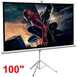 Topeakmart Manual Projection Screen 100