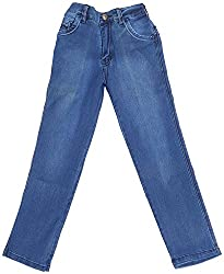 Boyhood Boys Boot cut Jeans (j5053-b-l, Blue, 6-7 Years)