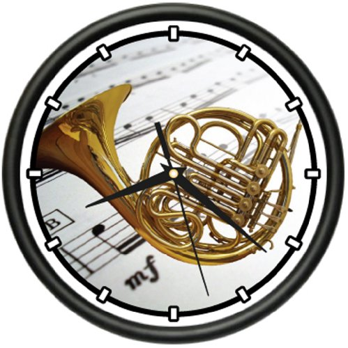 FRENCH HORN Wall Clock band music brass orchestra gift