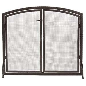 Amazon Single Panel Vintage Bronze Hinged Door