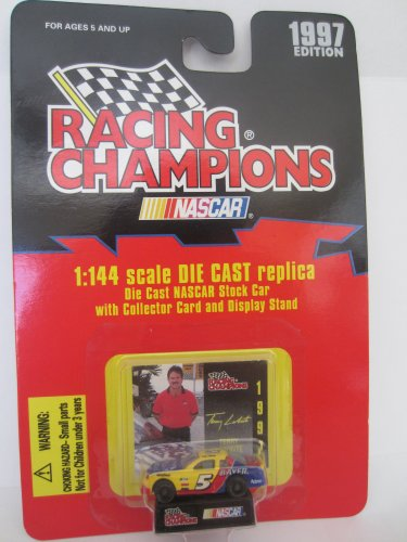 1997 Edition Racing Champions Terry Labonte #5 Kellogg's 1:144 Scale Replica Die Cast Replica w/Collector Card and Display Stand