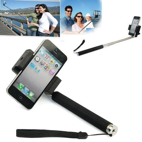 Extendable Camera Shooting Handheld Monopod Mount Holder For Iphone 5S 5C 5 4S 4