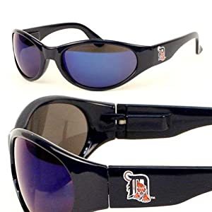 Detroit Tigers Straight Style MLB Sunglasses by Siskiyou