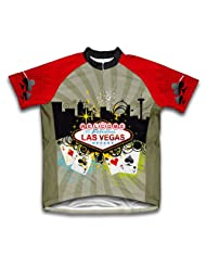 Las Vegas Fever Short Sleeve Cycling Jersey for Women