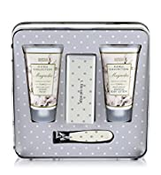 Floral Collection Magnolia Hand & Nail Gift Tin
