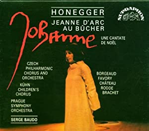 Honegger Vocal Works from Supraphon