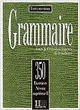 echange, troc Collective - Grammaire: 350 exercices niveau supérieur II : Cours de civilisation française de la Sorbonne