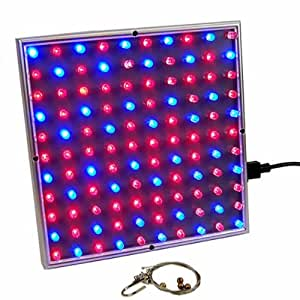 microglow 45 watt led light panel red blue spectrum plant grow lite growing. Black Bedroom Furniture Sets. Home Design Ideas