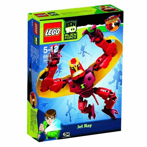 Lego Ben 10 Alien Force 8518 Jet Ray By Lego Picture
