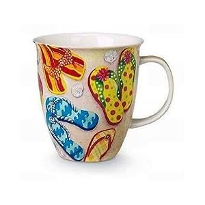 Amazon Com Funky Flip Flops Coffee Or Tea Ceramic Mug