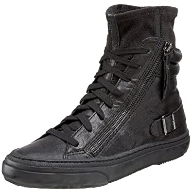 ash s as ralf high top tennis shoe black