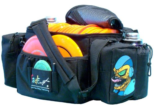 Fade Gear Tourney Disc Golf Bag BLACK - Reptilian Overlords