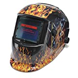Auto Darkening Solar Powered Welders Welding Helmet Mask With Grinding Function