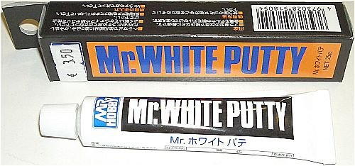 Mr. White Putty Gundam NET.25g Hobby (Tube Type) by Mr. Hobby (Model Kit Putty compare prices)