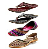 #6: Zaiva Women And Girls Belly and Slipper Pack of 4