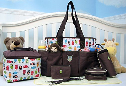 SoHo, Soren The Owls 7 in 1 Deluxe Diaper Bag *Limited time offer*