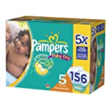 Pampers Baby Dry Size 6 Diapers, 128 Count