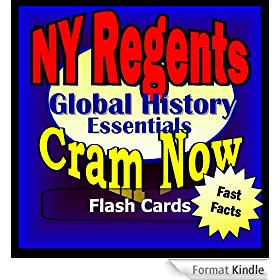 NY Regents Prep Test GLOBAL HISTORY & GEOGRAPHY Flash Cards--CRAM NOW!--Regents Exam Review Book & Study Guide (NY Regents Cram Now! 9) (English Edition)