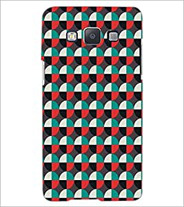 SAMSUNG GALAXY E5 CIRCLE PATTERN Designer Back Cover Case By PRINTSWAG