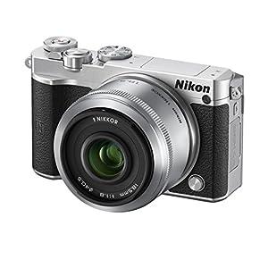 Nikon ミラーレス一眼 Nikon1 J5 ダブルレンズキット シルバー J5WZSL J5WLKSL