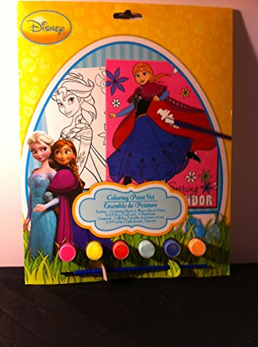Disney Princess Coloring Paint Set
