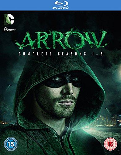 Arrow (Complete Seasons 1-3) - 12-Disc Box Set ( Arrow - Seasons One, Two & Three ) [ Blu-Ray, Reg.A/B/C Import - United Kingdom ]