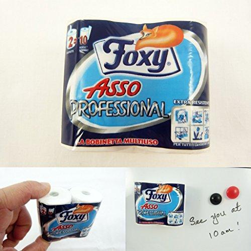 AlboTrade miniatura magnete del frigorifero Foxy Asso professionale (Marca italiana) JJ7195