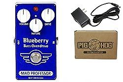 Mad Professor Blueberry Bass Overdrive Bundle - 1 Item: Pig Hog 9v Power Adapter by Mad Professor