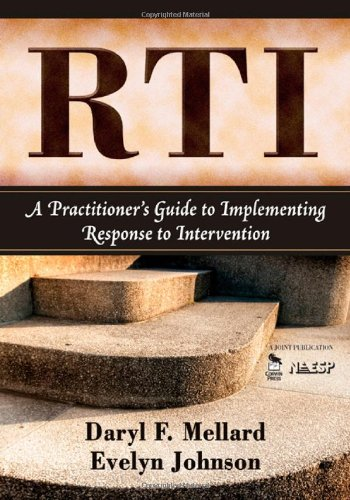 RTI: A Practitioner's Guide to Implementing Response to...