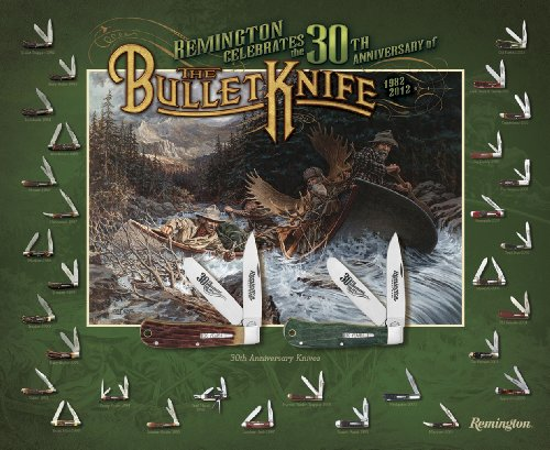 Remington Collector'S Edition 30Th Anniversary Larry Duke Bullet Knife Poster (17992)