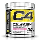 Cellucor - C4 Fitness Training Pre-Workout Supplement for Men and Women - Enhance Energy and Focus with Creatine Nitrate and Vitamin B12, Pink Lemonade, 30 Servings