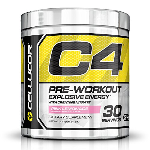Cellucor C4 Pre Workout Supplements with Creatine, Nitric Oxide, Beta Alanine and Energy, 195 g (6.87 oz) 30 Servings, Pink Lemonade (Peak Nitric Oxide Pills compare prices)