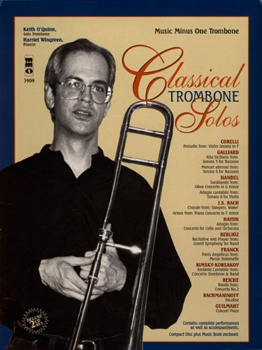Music Minus One Trombone: Classical Trombone Solos (2CD Set) (Music Minus One (Numbered))