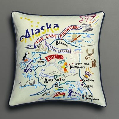 Catstudio Alaska Pillow - Original Geography Collection Home Décor 002(Cs)