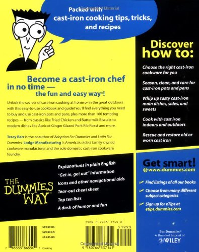 Cast-Iron Cooking for Dummies