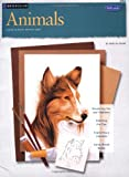img - for Animals in Watercolor book / textbook / text book